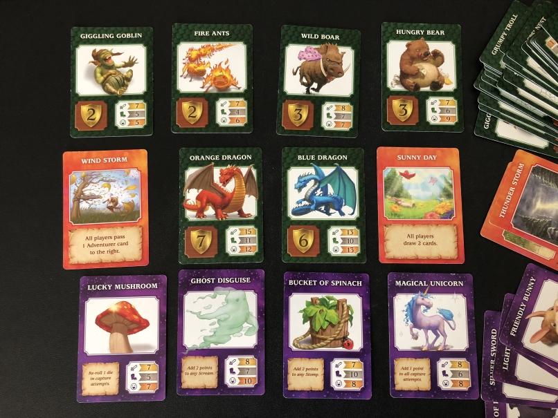 Dragonwood Board Game